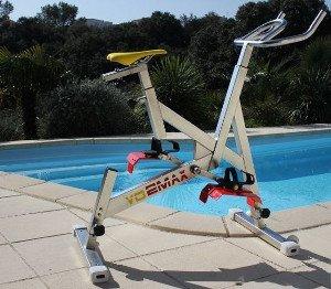 Acheter son vélo aquabike dans sa piscine privée pour pratiquer son sport à domicile