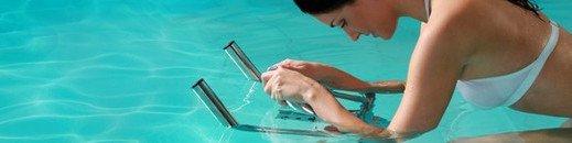 LL'aquabike pour des effets rapides sur les muscles et un corps tonifié