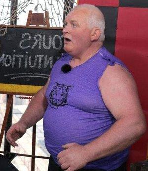 Thierry Olive avec 131kg a perdu du poids grâce à l'aquabike régulier