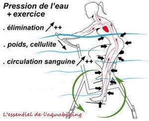 Les effets de l'aquabike sont visibles au bout de combien de séance